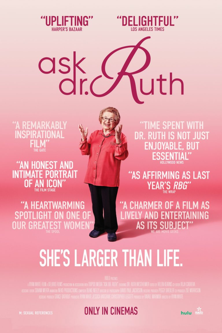Ask Dr Ruth poster