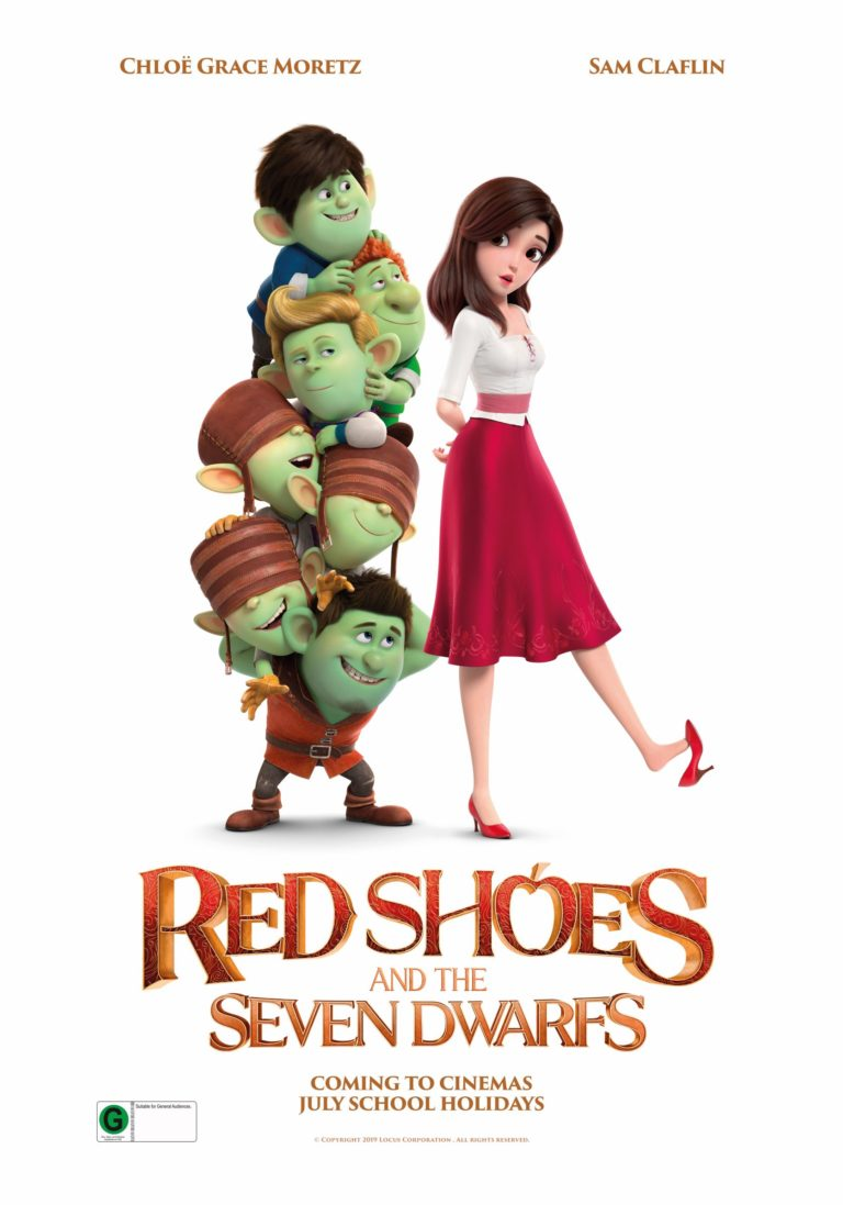 Red Shoes & the Seven Dwarfs poster