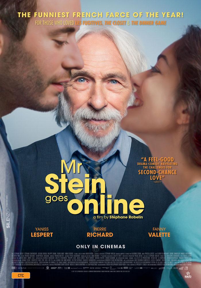Mr Stein Goes Online poster
