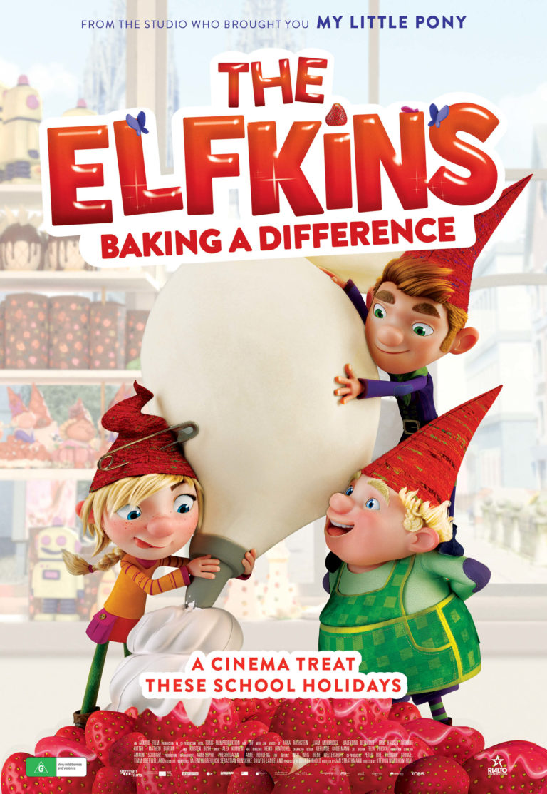 The Elfkins: Baking a Difference poster