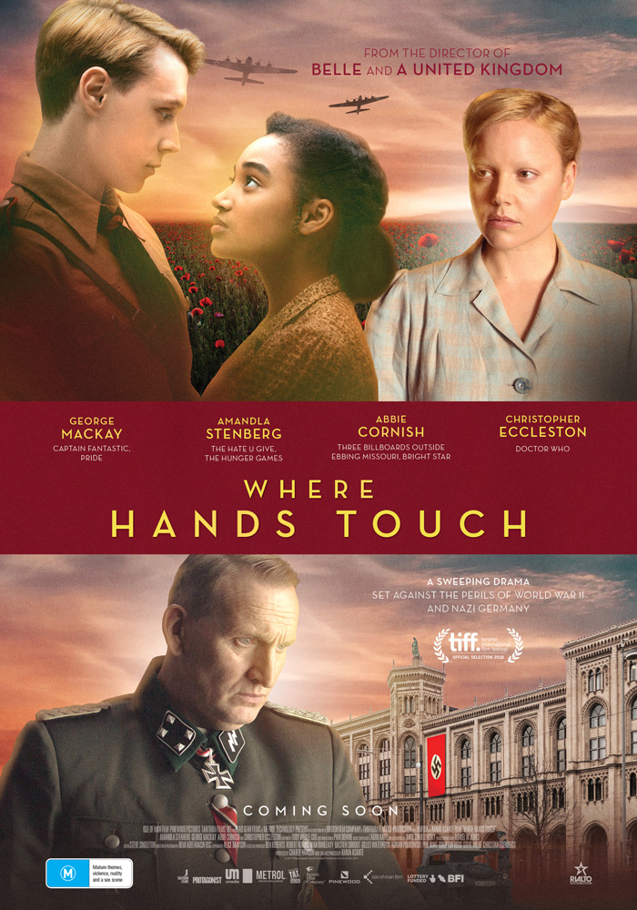 Where Hands Touch poster