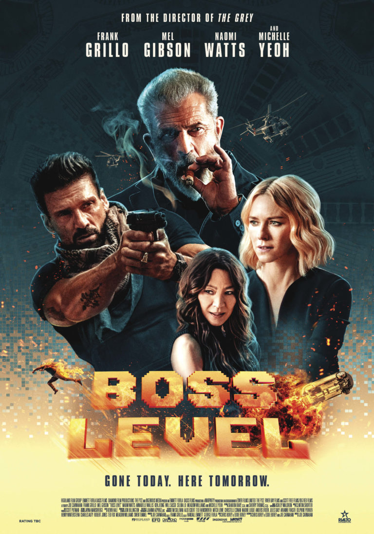 Boss Level poster