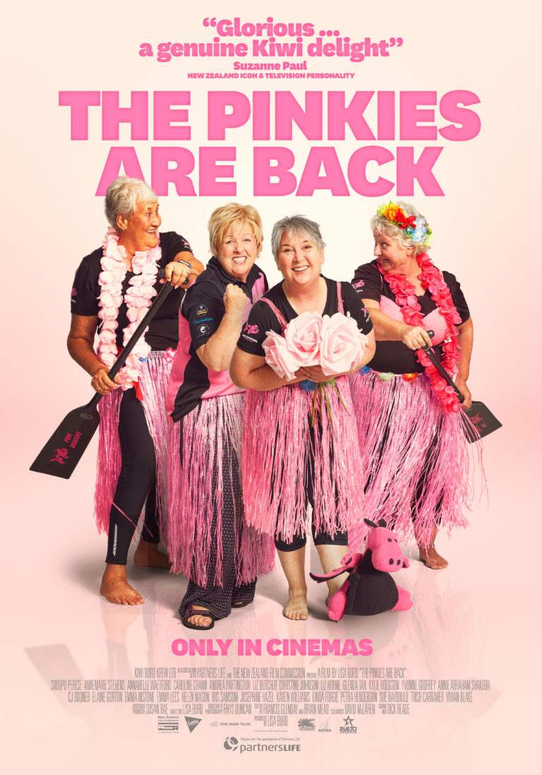 The Pinkies Are Back poster