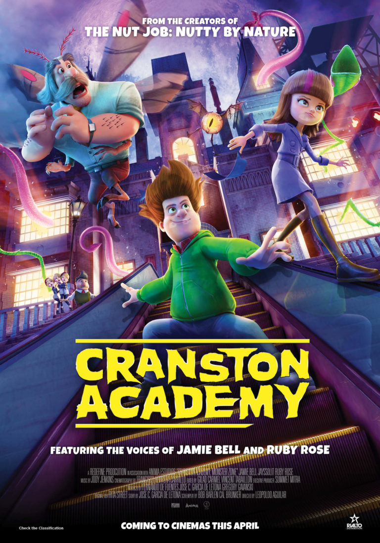 Cranston Academy: Monster Zone poster
