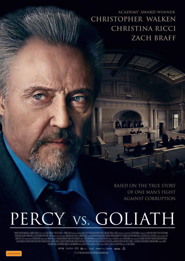 Percy Vs Goliath poster