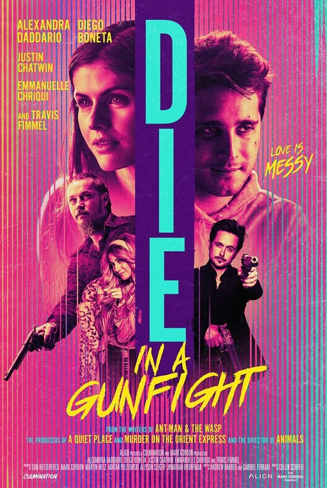 Die in a Gunfight poster