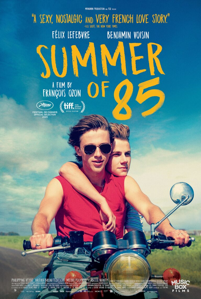 Summer of 85 poster